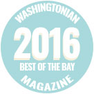 Washingtonian Magazine, Best of the Bay 2016