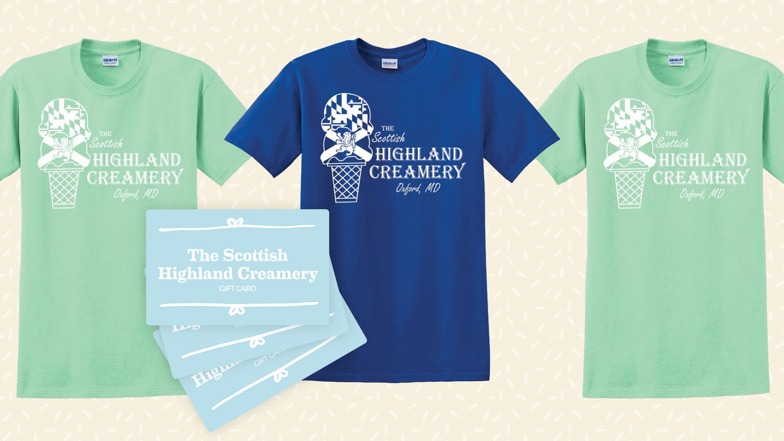 Merch Scottish Highland Creamery