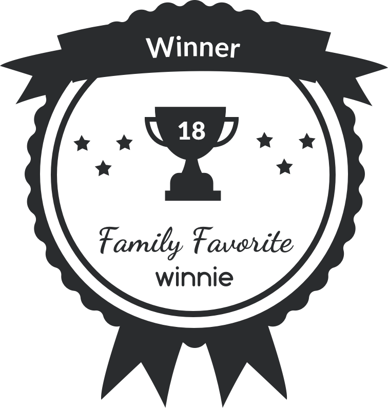 Chosen As A Winnie Family Favorite Are We There Yet Award For